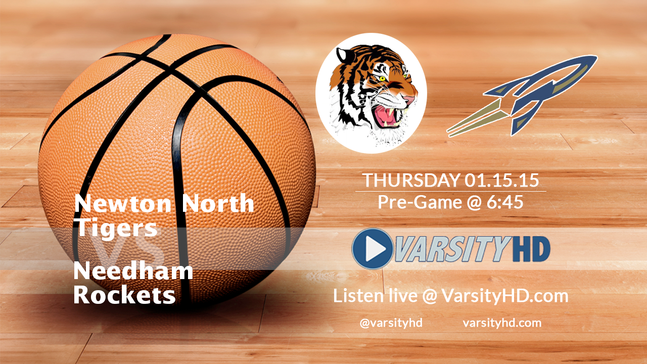 01.15.2015 Varsity Hoops – Newton North @ Needham