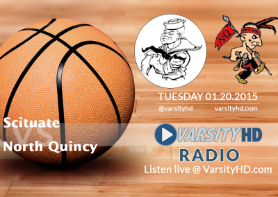 01.20.2015 Varsity Hoops – Scituate @ North Quincy