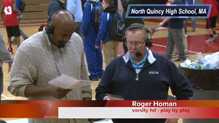 Wrap Up Quincy @ North Quincy Boys Basketball